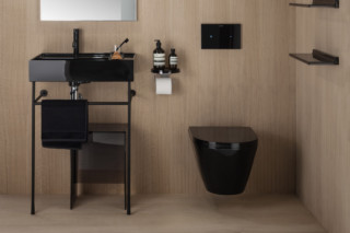 Kartell by Laufen floor standing washbasins with storage  by  Laufen