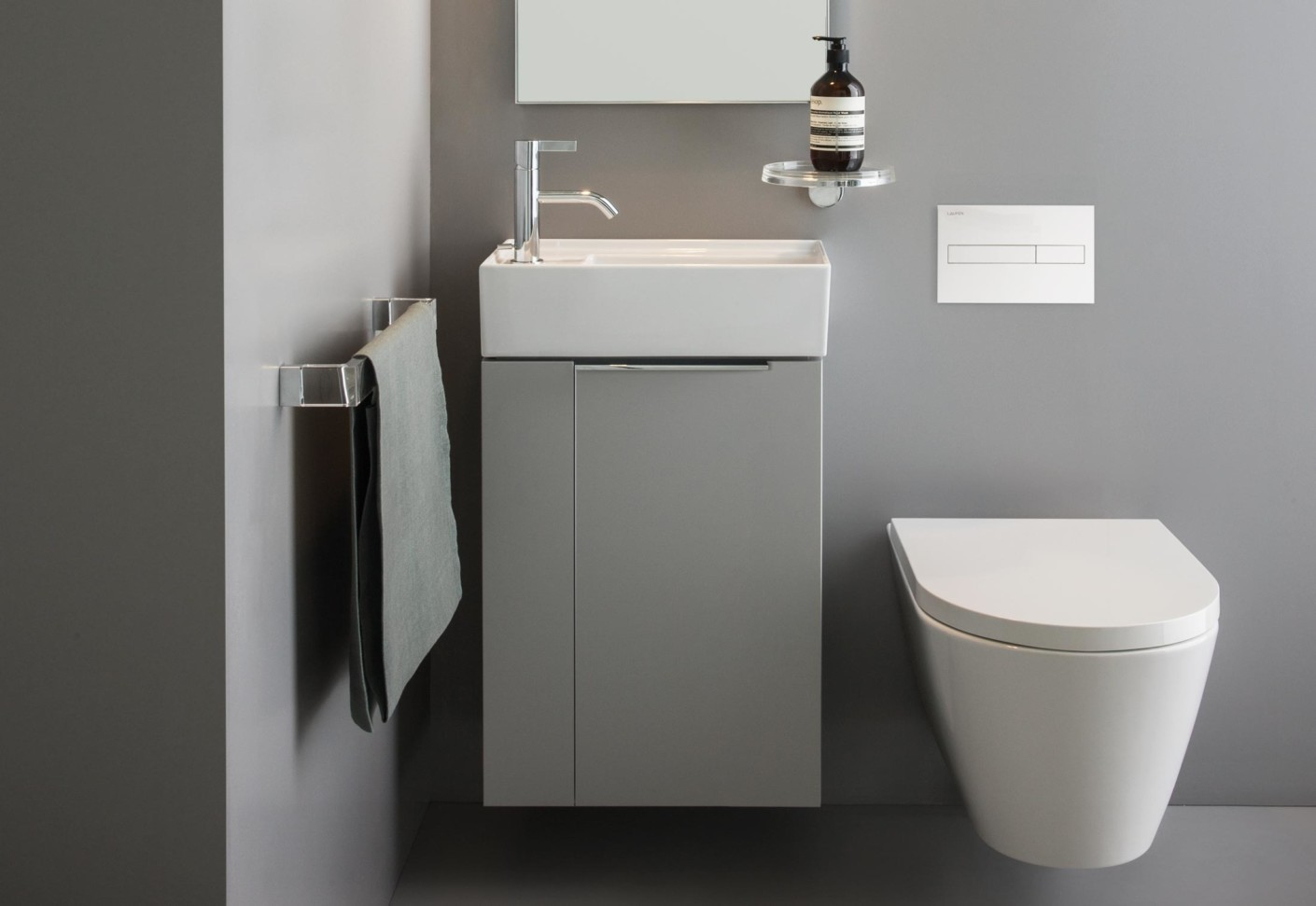 kartell by laufen small washbasin by laufen stylepark. Black Bedroom Furniture Sets. Home Design Ideas