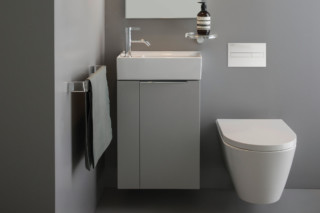 Kartell by Laufen Vanity unit folding compartment  by  Laufen