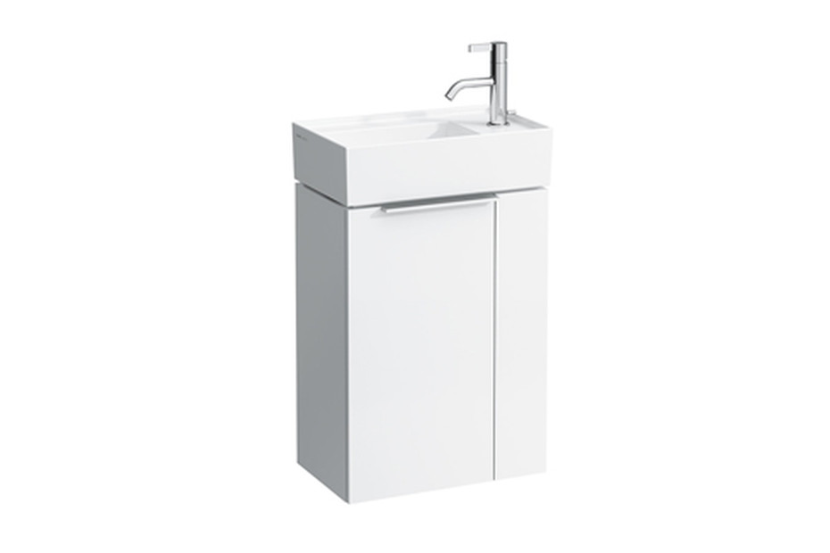 Kartell by Laufen Vanity unit folding compartment