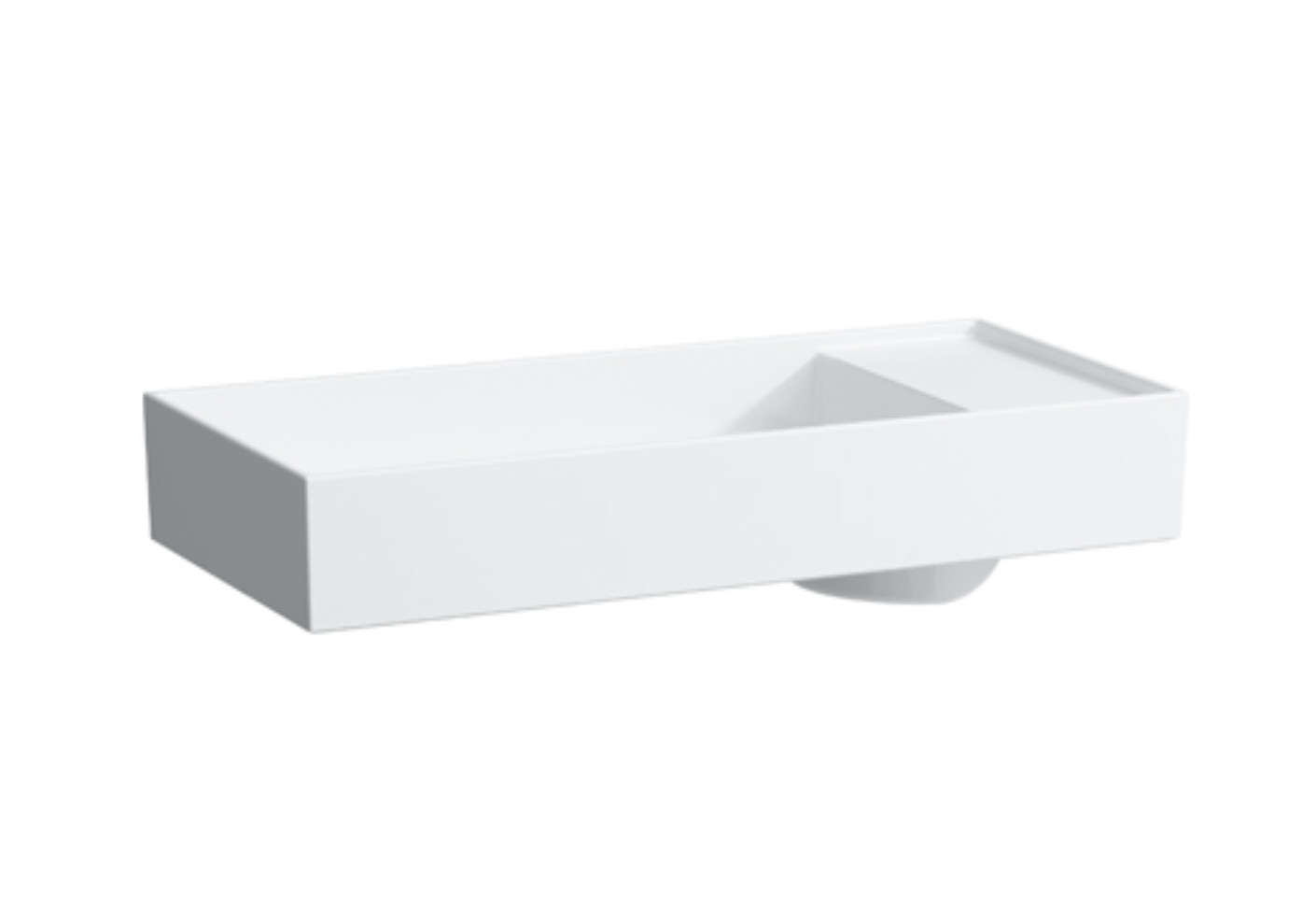 Kartell by Laufen Washbasin bowl with tapbank with special hidden ...