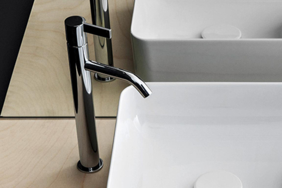 Kartell by Laufen washbasin mixer 1-hole high