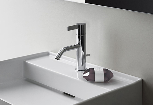 kartell by laufen washbasin mixer 1 hole by laufen stylepark. Black Bedroom Furniture Sets. Home Design Ideas