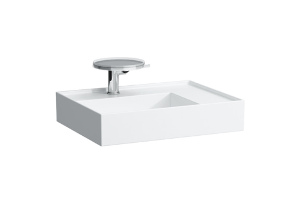 Kartell by Laufen Washbasin shelf right with special hidden outlet
