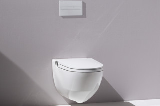 Riva shower toilet  by  Laufen