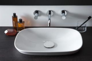 SaphirKeramik Ino Built-in washbasin  by  Laufen