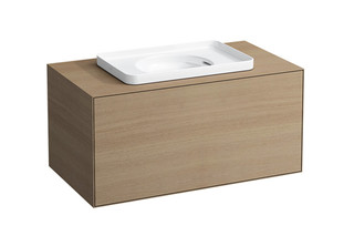 SaphirKeramik Val Built-in washbasin  by  Laufen