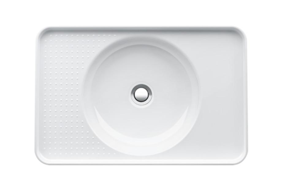 SaphirKeramik Val Built-in washbasin