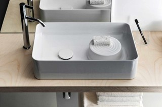SaphirKeramik Val washbasin bowl  by  Laufen
