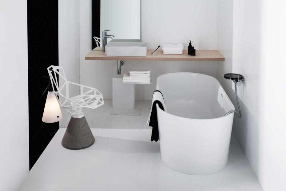 SaphirKeramik Val washbasin bowl