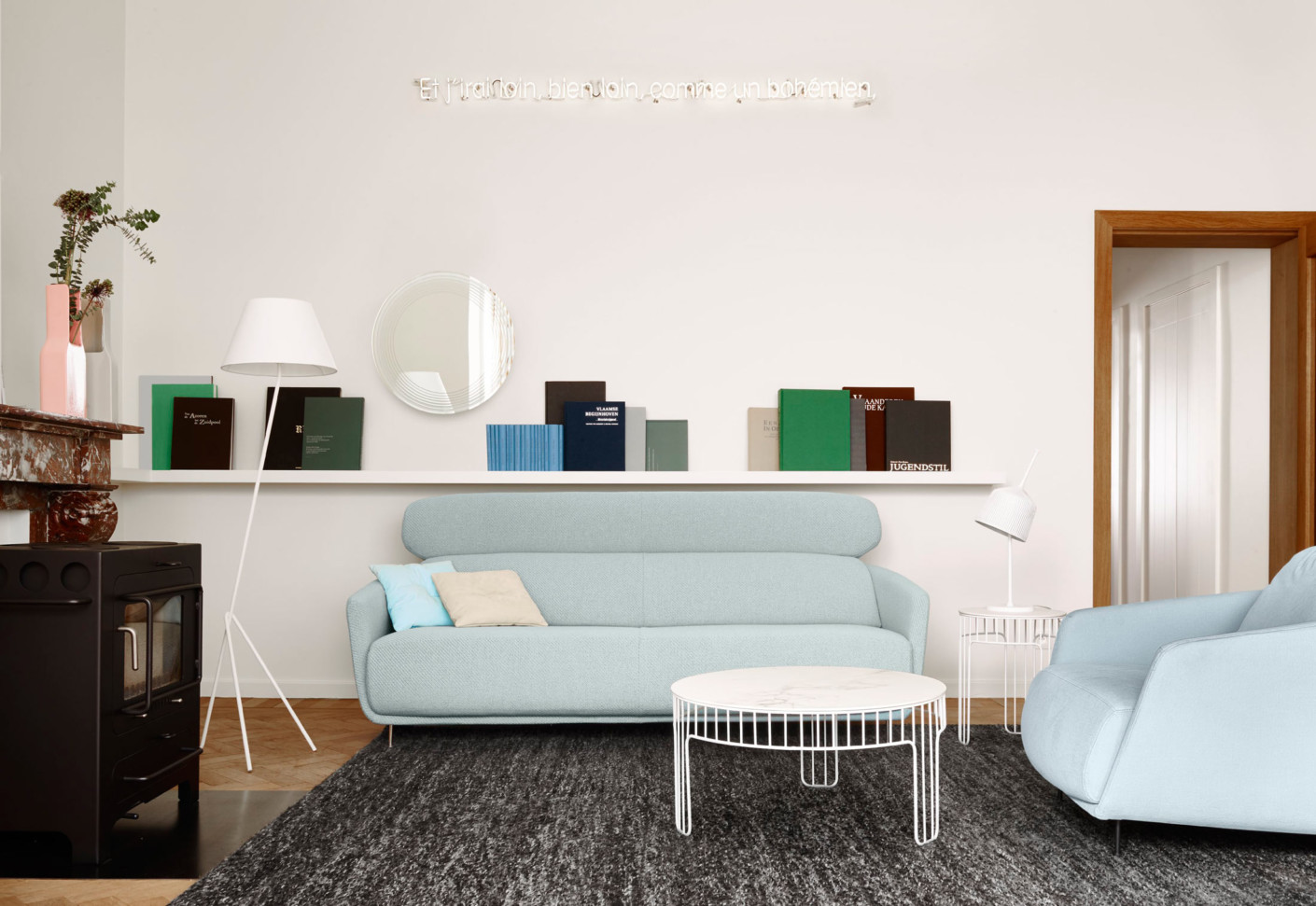 cadence coffee table by ligne roset stylepark. Black Bedroom Furniture Sets. Home Design Ideas