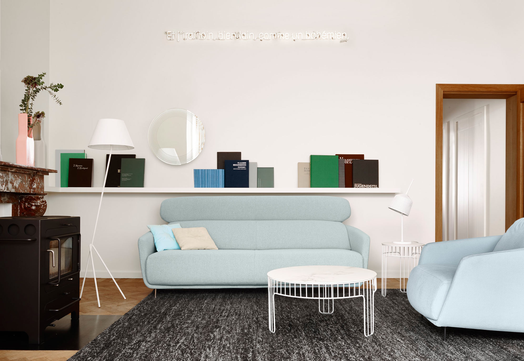 cadence beistelltisch von ligne roset stylepark. Black Bedroom Furniture Sets. Home Design Ideas