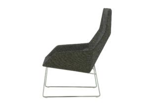 ELSA Sessel hoch mit Kufengestell  von  ligne roset