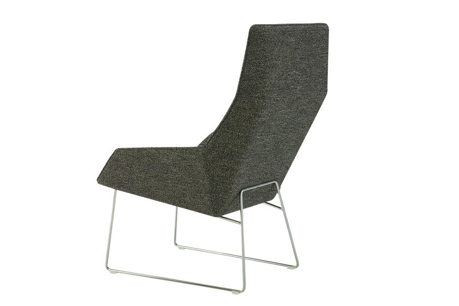 ELSA Sessel hoch mit Kufengestell