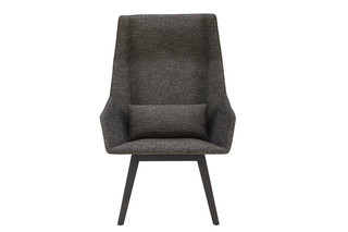 ELSA high armchair with wooden legs  by  ligne roset