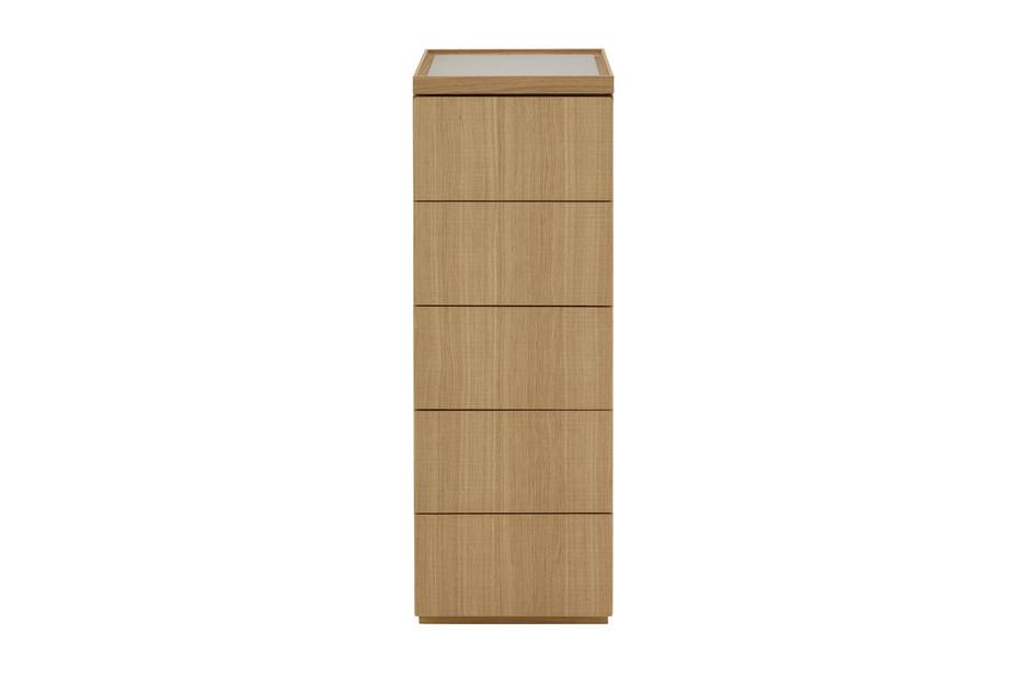ESTAMPE slim chest of drawers