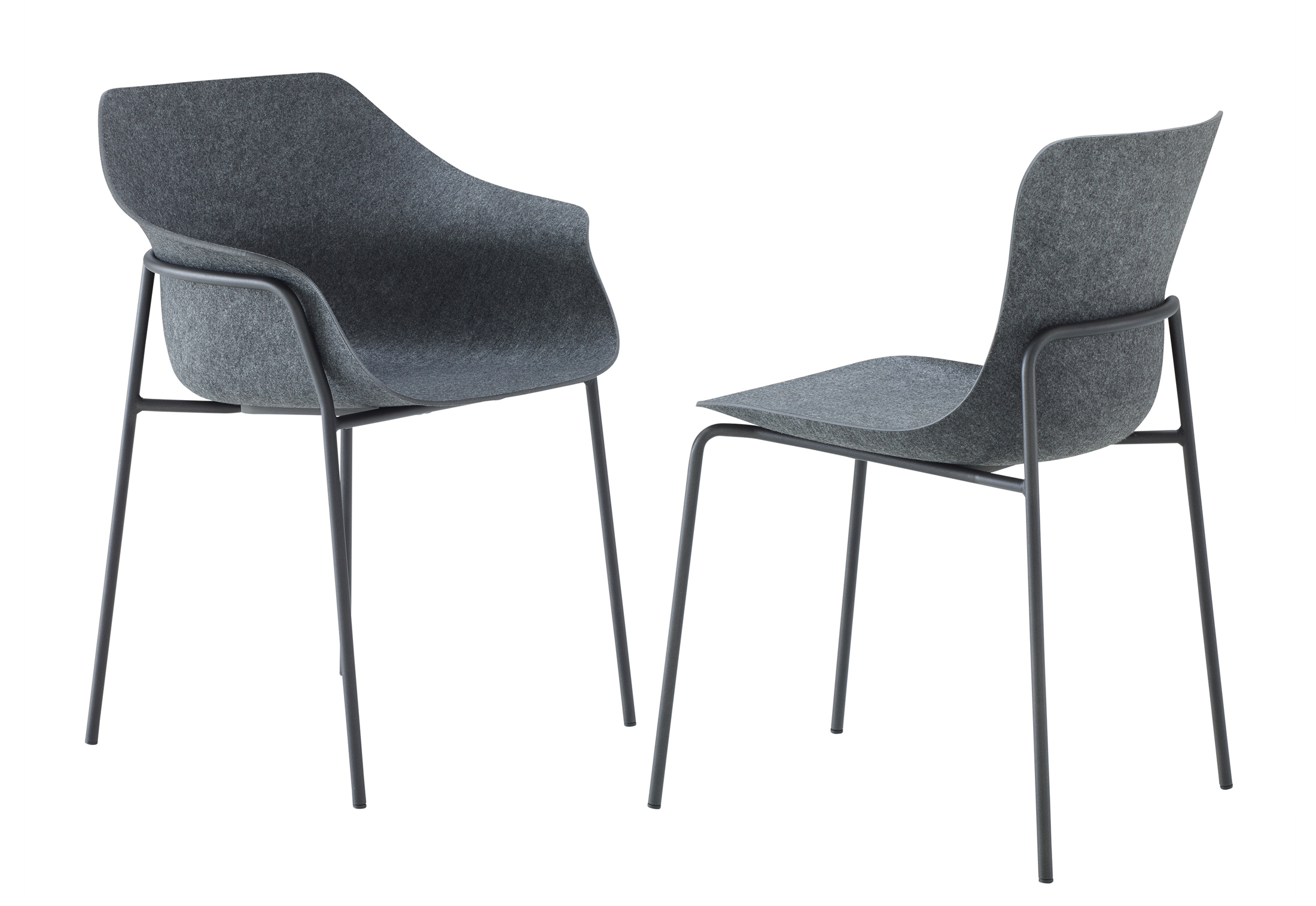 Ettoriano Chair With Armrests By Ligne Roset Stylepark