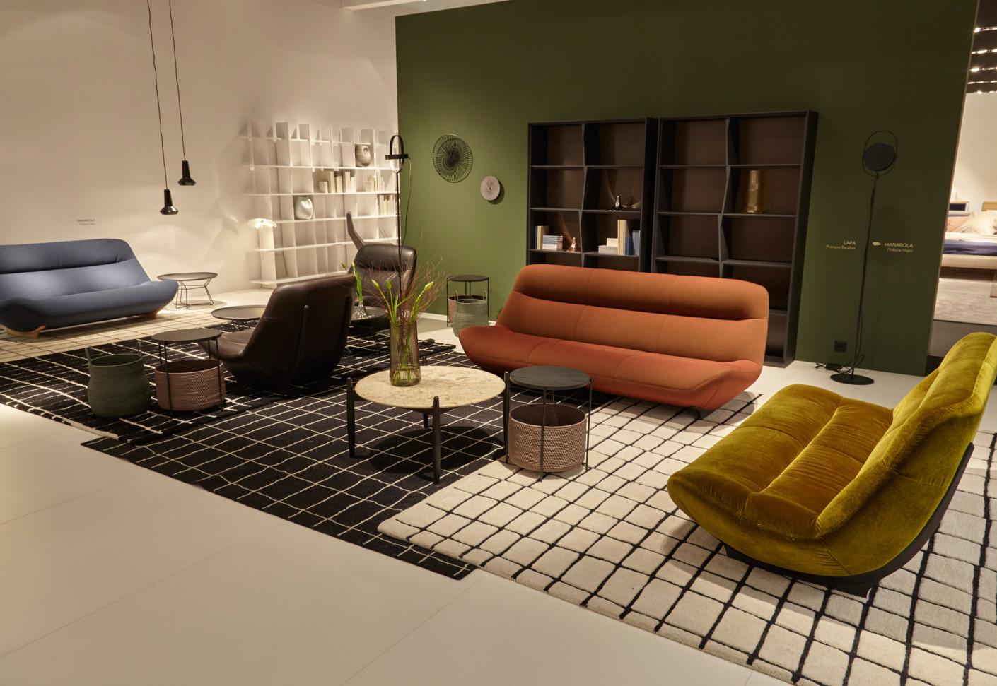 manarola 2 sitzer von ligne roset stylepark. Black Bedroom Furniture Sets. Home Design Ideas