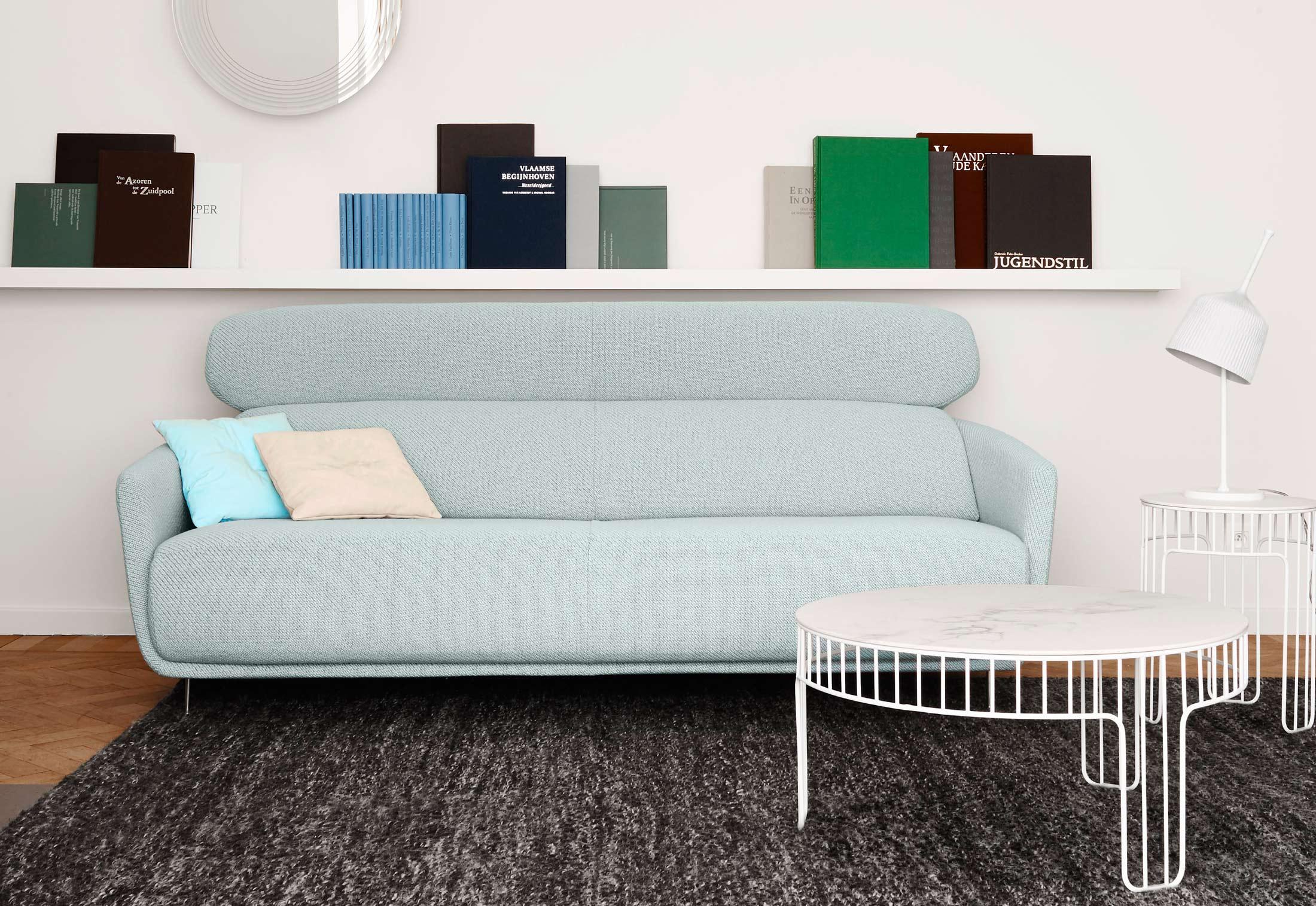 okura 2 sitzer hohe lehne von ligne roset stylepark. Black Bedroom Furniture Sets. Home Design Ideas
