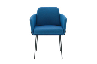 TADAO arm chair with metal legs  by  ligne roset