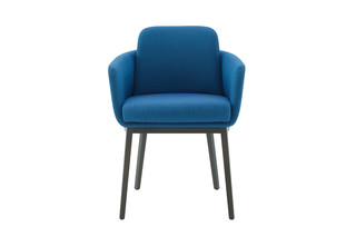 TADAO arm chair with wooden legs  by  ligne roset