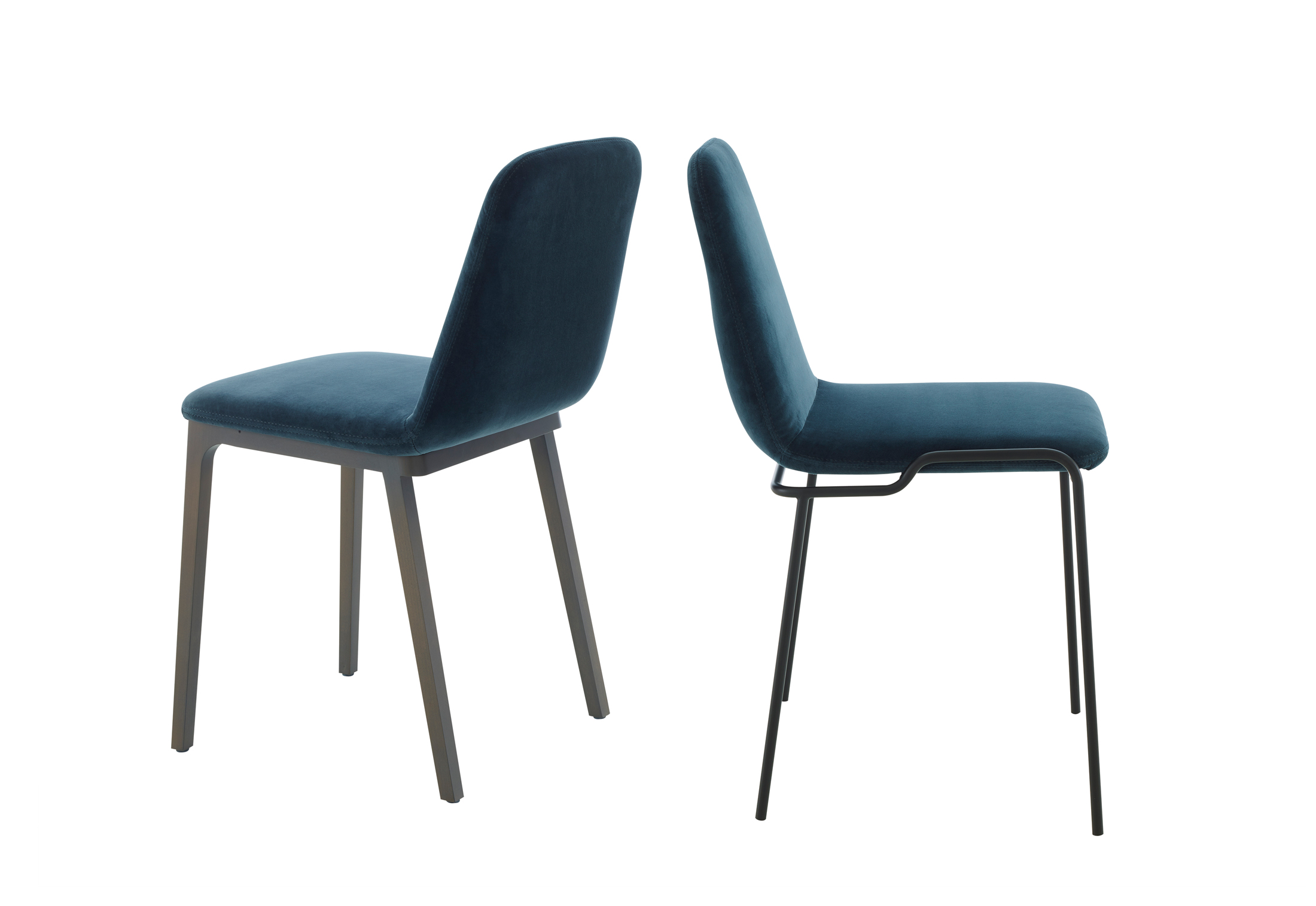 tadao stuhl mit holzbeinen von ligne roset stylepark. Black Bedroom Furniture Sets. Home Design Ideas