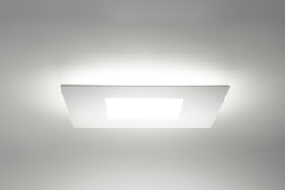 Square ceiling light  by  Linea Light Group
