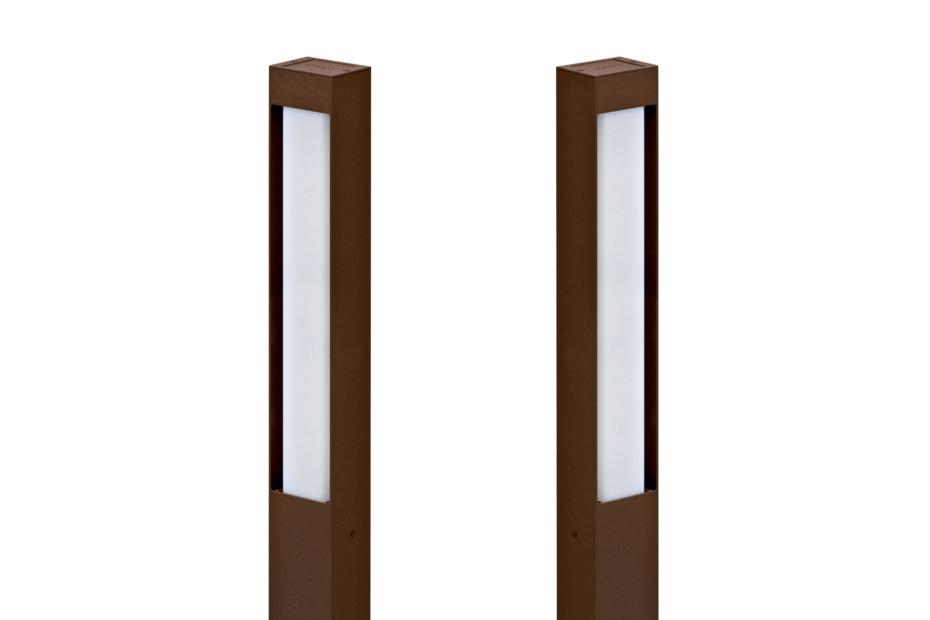 Stalk bollard lamp