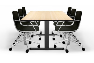 LO Extend meeting table  by  Lista Office LO