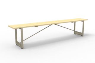 BRUT bench  by  Magis