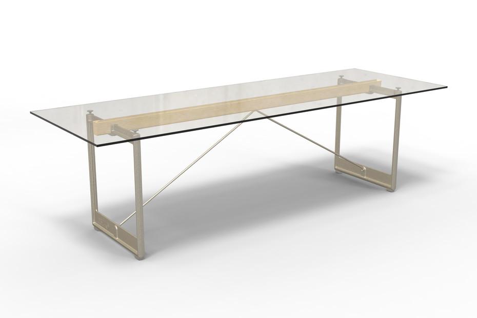 BRUT rectangular table