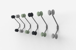OFFICINA wall coat hanger  by  Magis