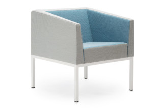 Cube armchair  by  Martela