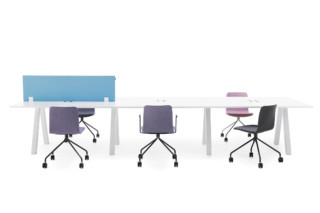 Frankie bench desk A-leg  by  Martela