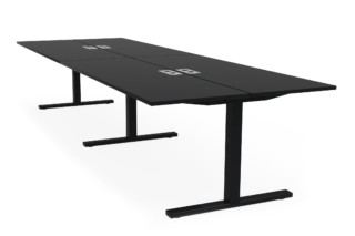 Frankie bench desk T-leg  by  Martela