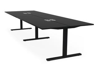 Frankie bench desk T-leg  by  Martela