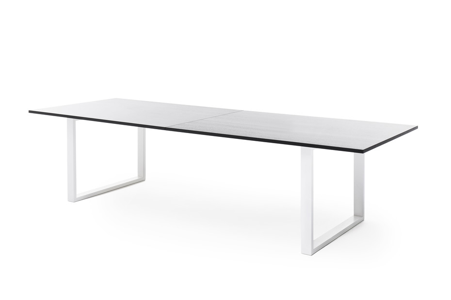 Frankie conference table sled base