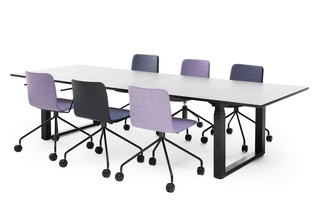 Frankie height adjustable conference table  by  Martela