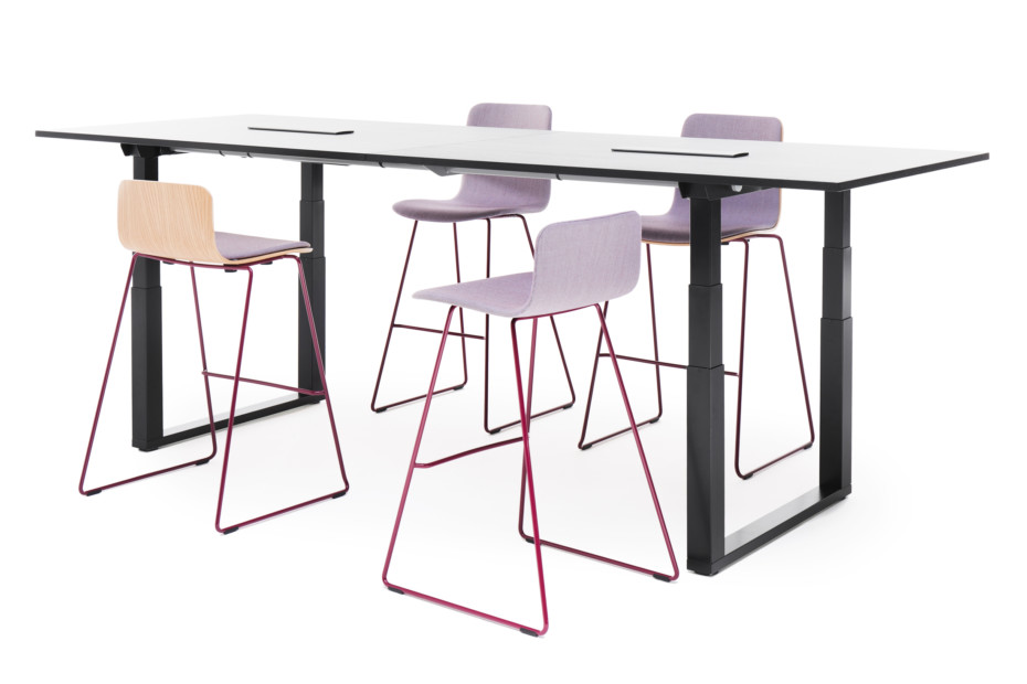 Frankie height adjustable conference table