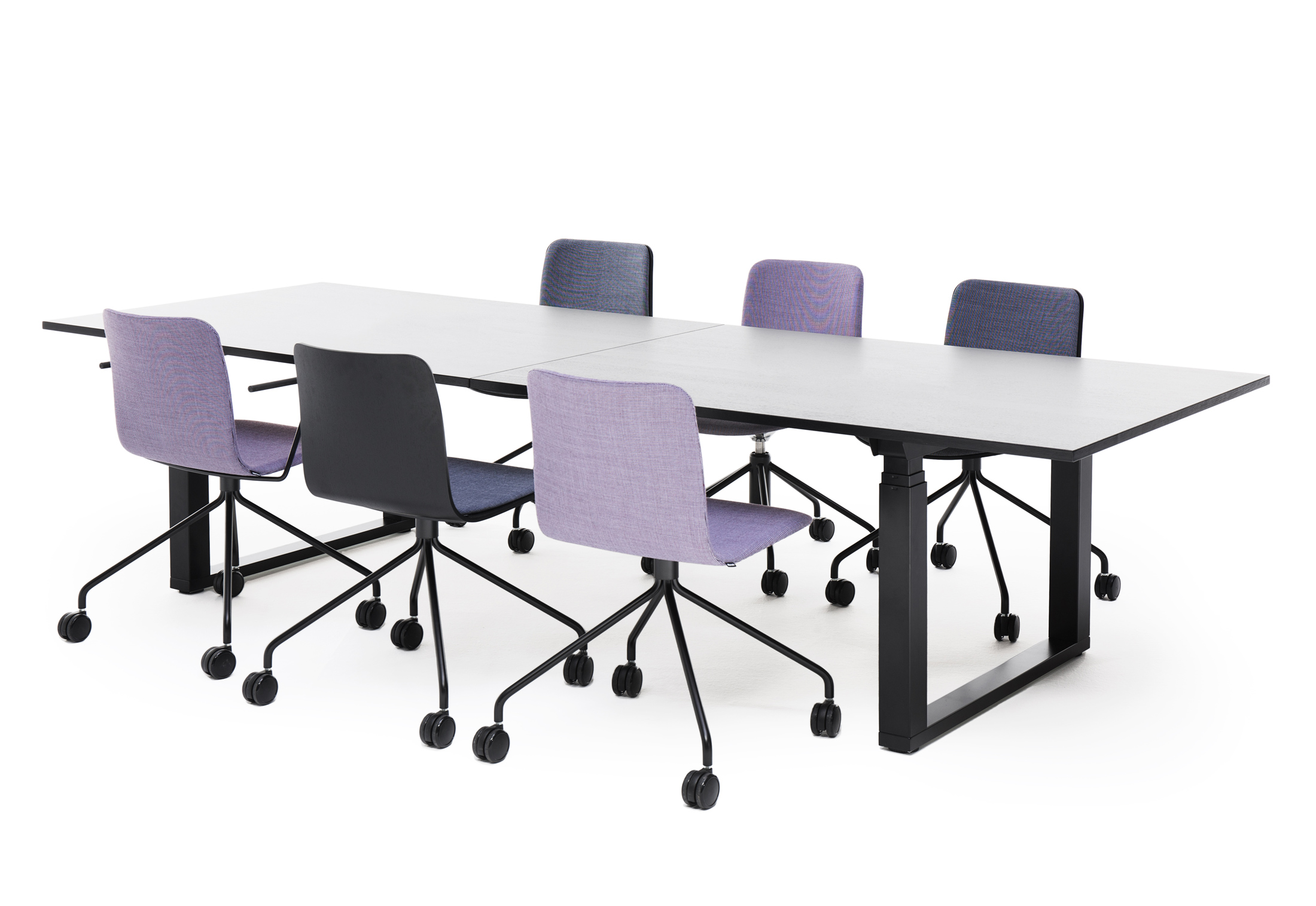 Frankie Height Adjustable Conference Table By Martela STYLEPARK - Height adjustable meeting table