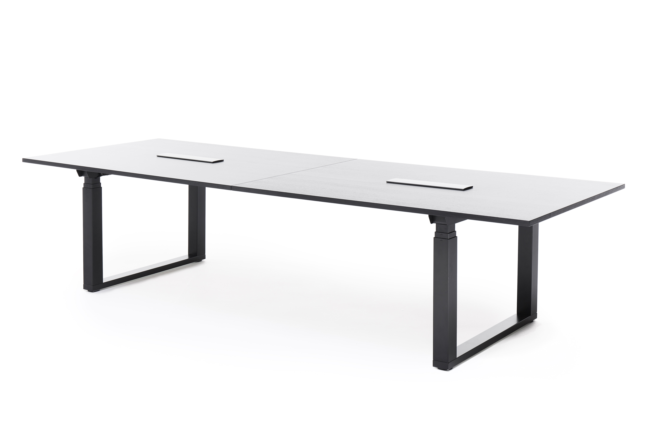 Frankie Height Adjustable Conference Table By Martela STYLEPARK - Conference room table height