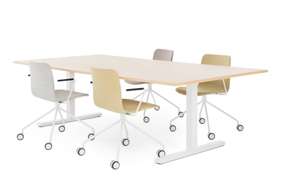 Frankie conference table T-legs