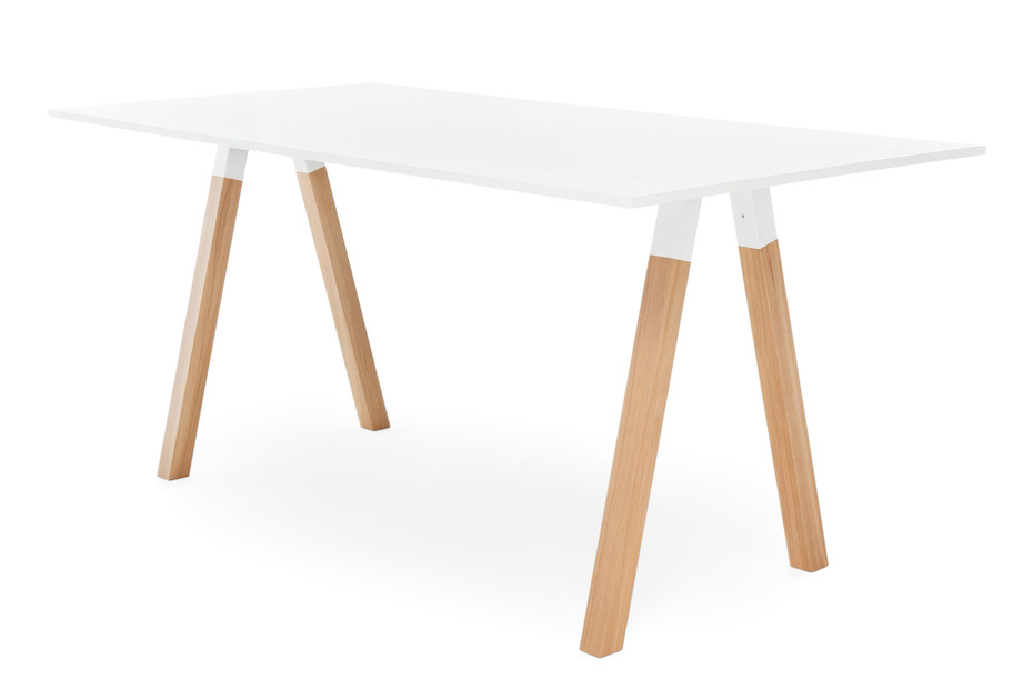 Frankie standing table wooden base