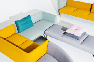 Nooa benches  by  Martela