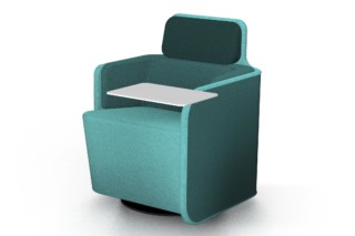PodSeat with low backrest  by  Martela