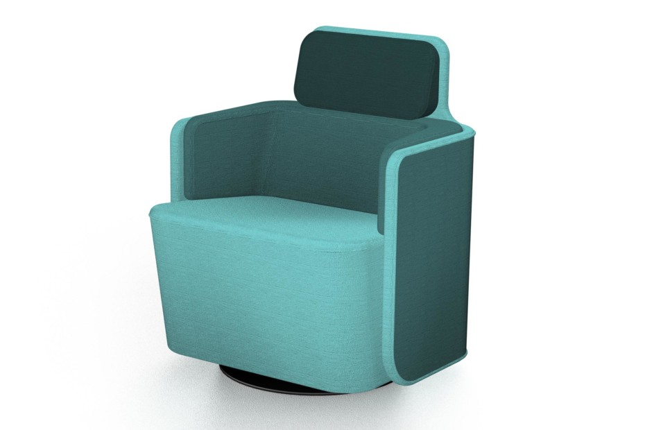 PodSeat with low backrest