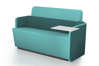 PodSofa with low backrest  by  Martela