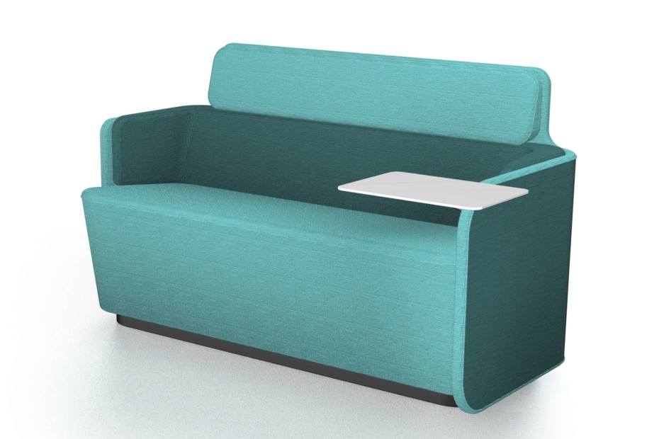 PodSofa with low backrest