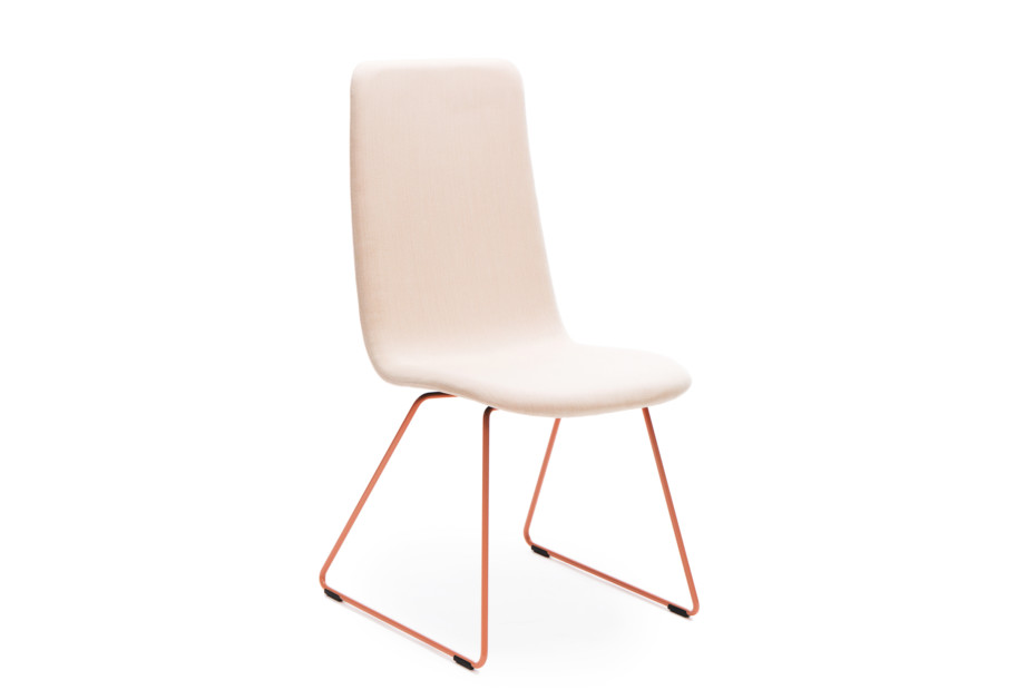 Sola conference chair with sled base