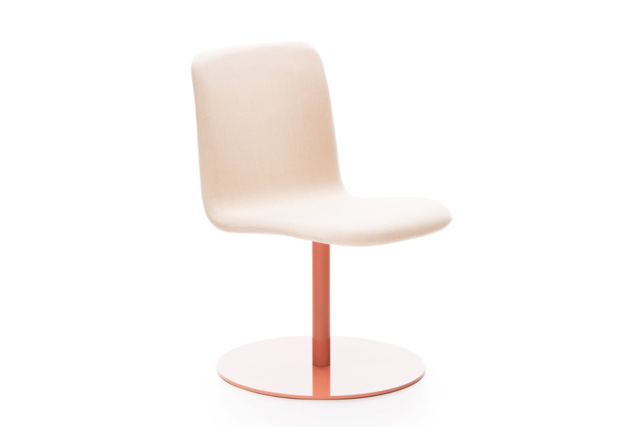 Sola conference chair with swivel disc base